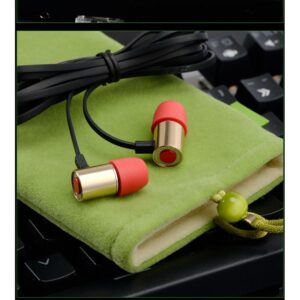 Портативные игровые наушники-гарнитура Fokoos M4: удлинитель для двойного выхода микрофон-наушники, 3,5 мм разъем, 110 дБ
