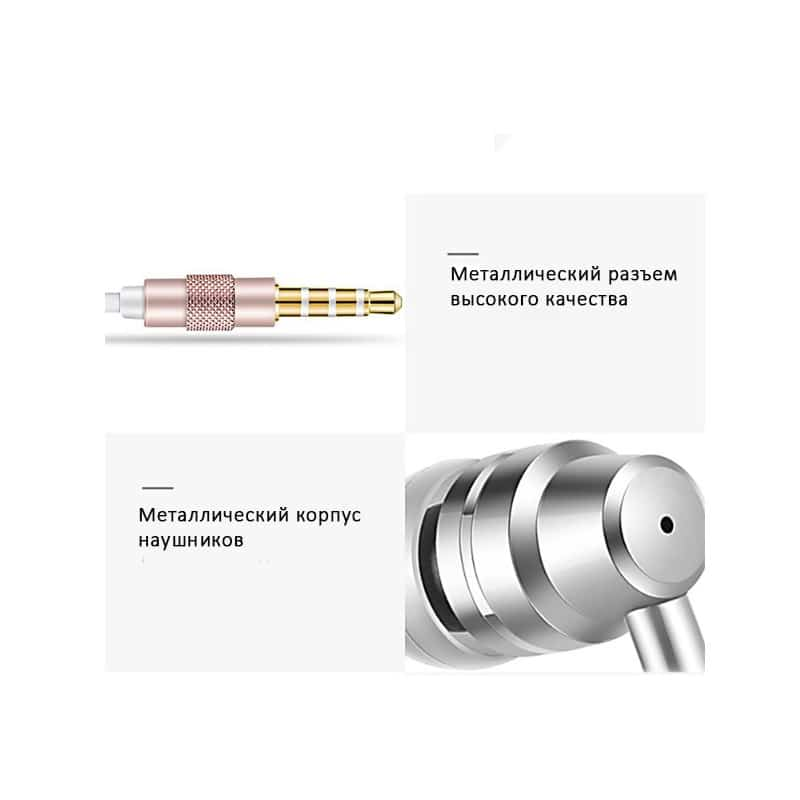 Влагозащищенные наушники для смартфона Fokoos J1 (3,5 мм штекер) 214174