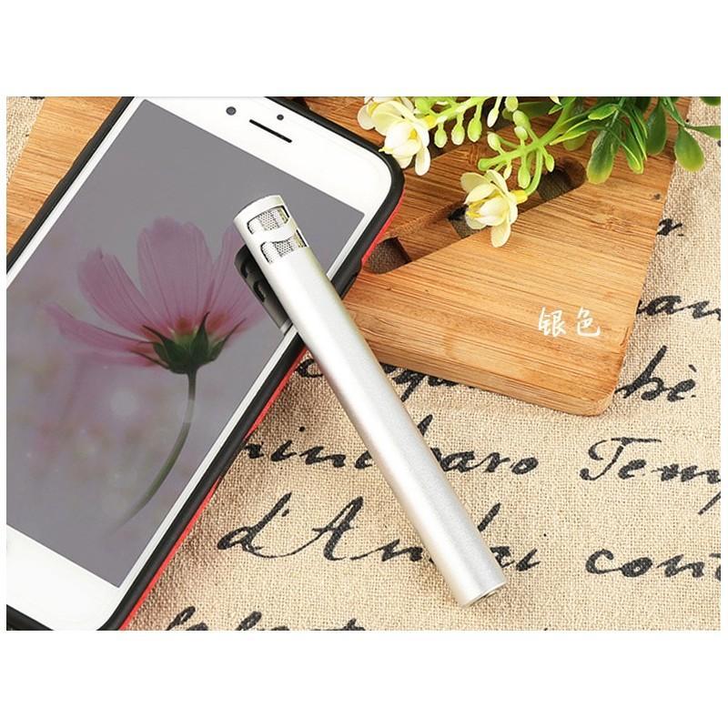 38519 - Караоке-микрофон Fokoos M8 для смартфона с аудиокабелем 3,5 мм на 2 выхода + кольцо-держатель для смартфона
