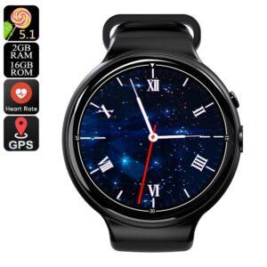 Смарт-часы I4 Air: 3G, 5Мп камера, 1,39″ AMOLED-экран, 2/16Гб, Wi-Fi, звонки, SMS, соцcети, музыка, шагомер, пульсометр, Android