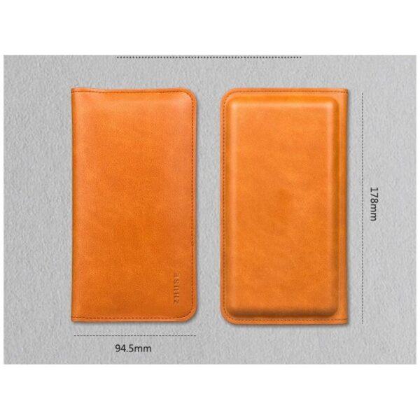 38569 - Карманный Power Bank-чехол ZHUSE для смартфона (6800 мАч): Micro USB с переходниками для USB Type-C и Ligthning разъемов