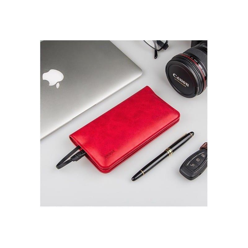 Карманный Power Bank-чехол ZHUSE для смартфона (6800 мАч): Micro USB с переходниками для USB Type-C и Ligthning разъемов 214254