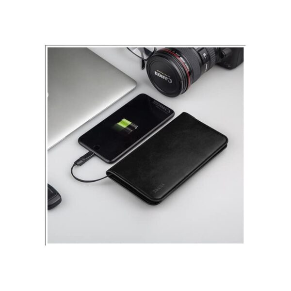 38577 - Карманный Power Bank-чехол ZHUSE для смартфона (6800 мАч): Micro USB с переходниками для USB Type-C и Ligthning разъемов