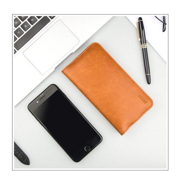 38581 - Карманный Power Bank-чехол ZHUSE для смартфона (6800 мАч): Micro USB с переходниками для USB Type-C и Ligthning разъемов
