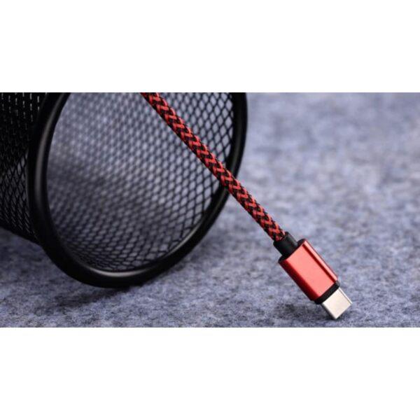 38616 - USB Type-C-кабель (адаптер к USB-порту): быстрая зарядка 2,1А, длина 0,25/ 1/ 2/ 3 метра