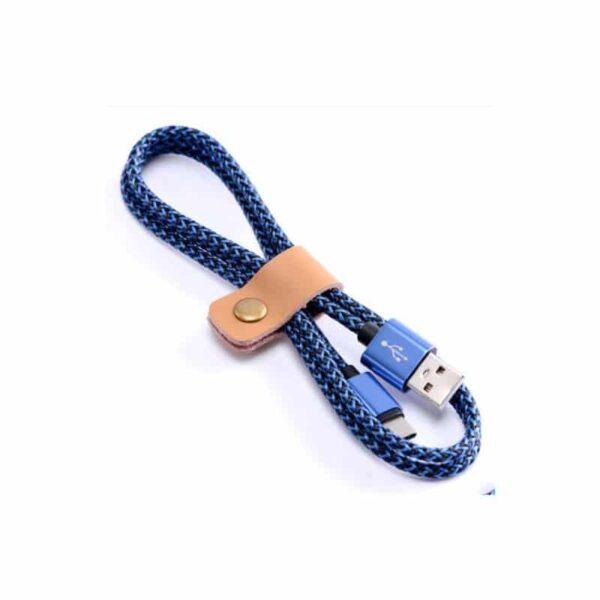 38627 - USB Type-C-кабель (адаптер к USB-порту): быстрая зарядка 2,1А, длина 0,25/ 1/ 2/ 3 метра