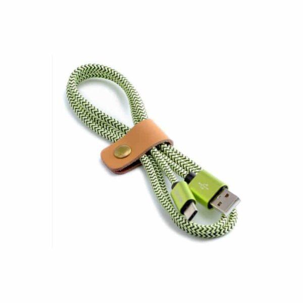 38629 - USB Type-C-кабель (адаптер к USB-порту): быстрая зарядка 2,1А, длина 0,25/ 1/ 2/ 3 метра