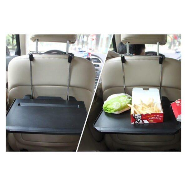 38650 - Автомобильный раскладной столик для руля, сиденья автомобиля: углубление для планшета, выдвижная столешница для мыши