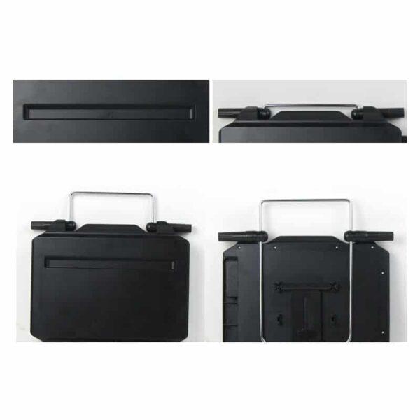 38652 - Автомобильный раскладной столик для руля, сиденья автомобиля: углубление для планшета, выдвижная столешница для мыши