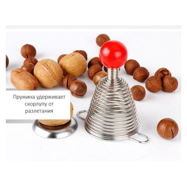 38689 - Пружинный орехокол-щелкунчик для всех видов орехов