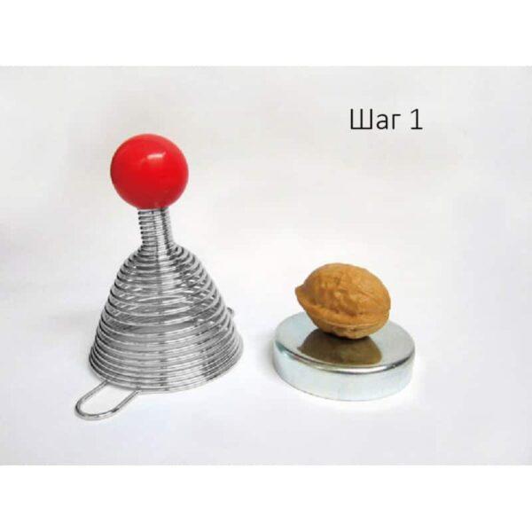 38695 - Пружинный орехокол-щелкунчик для всех видов орехов