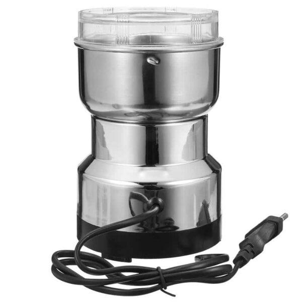 38701 - Портативная электрическая кофемолка Freshener Grinder: стальные лезвия, простой дизайн