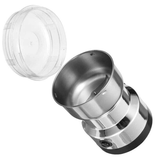 38703 - Портативная электрическая кофемолка Freshener Grinder: стальные лезвия, простой дизайн