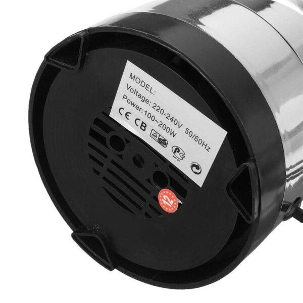 38704 - Портативная электрическая кофемолка Freshener Grinder: стальные лезвия, простой дизайн