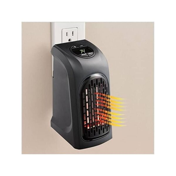 38717 - Портативный настенный мини-обогреватель Handy Heater: 350Вт, защита от перегрева, выбор температуры, таймер