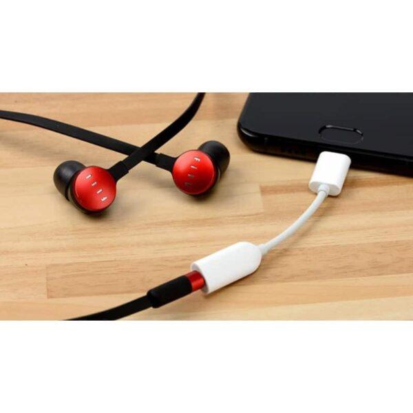 38725 - Кабель-переходник USB Type-C к 3,5 мм аудиоразъему Fokoos