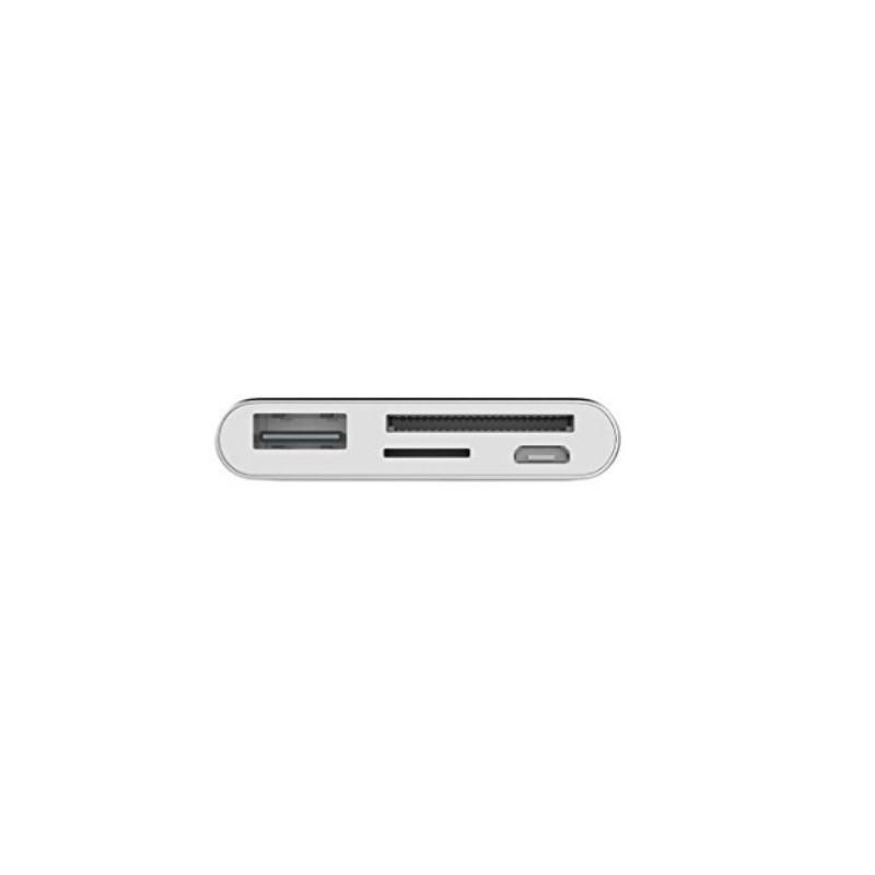 Ультратонкий USB 3.1 Type-C карт-ридер (CF/ SD/ TF Micro SD) + адаптер с функцией OTG + зарядное 214409