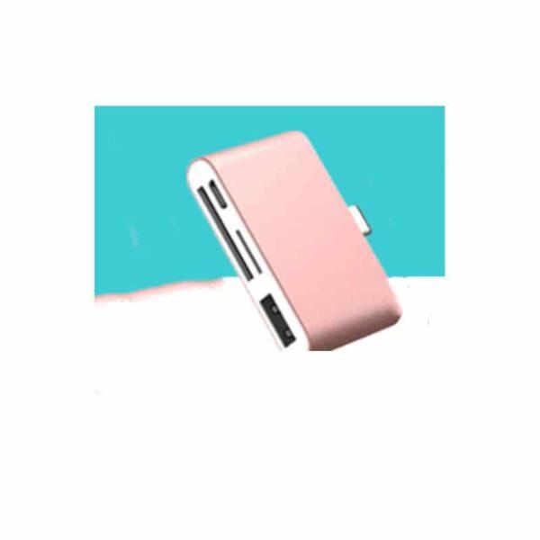 38755 - Ультратонкий USB 3.1 Type-C карт-ридер (CF/ SD/ TF Micro SD) + адаптер с функцией OTG + зарядное