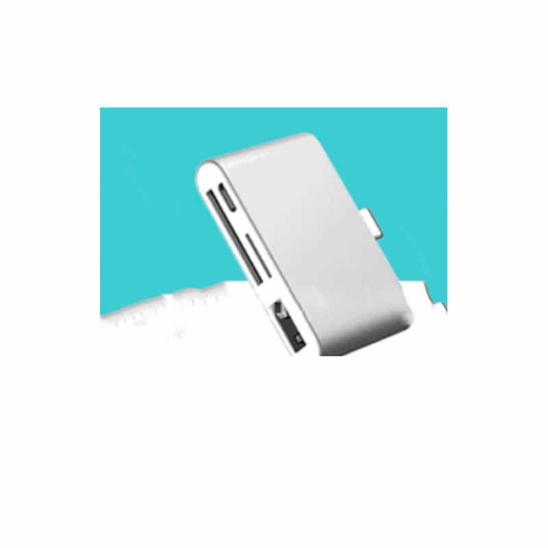 Ультратонкий USB 3.1 Type-C карт-ридер (CF/ SD/ TF Micro SD) + адаптер с функцией OTG + зарядное 214411