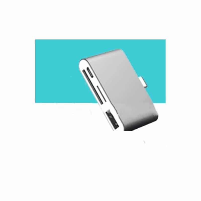 Ультратонкий USB 3.1 Type-C карт-ридер (CF/ SD/ TF Micro SD) + адаптер с функцией OTG + зарядное 214412