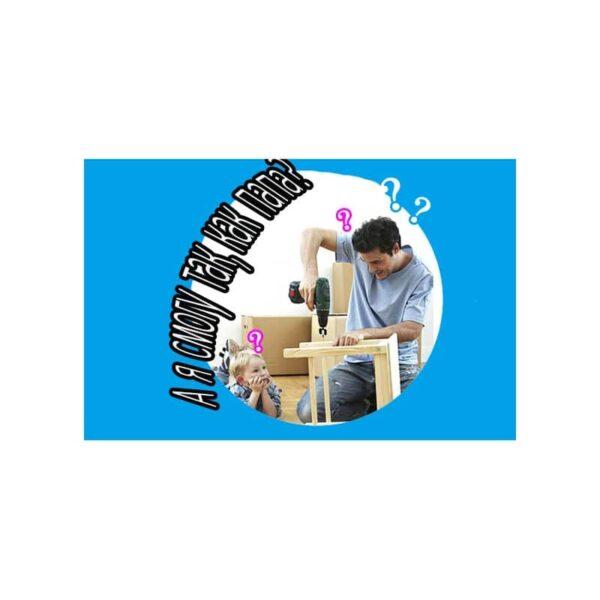 38901 - Детский игрушечный набор инструментов для мальчика + каска: 32 детали
