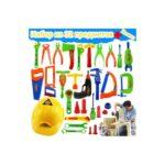38905 thickbox default - Детский игрушечный набор инструментов для мальчика + каска: 32 детали