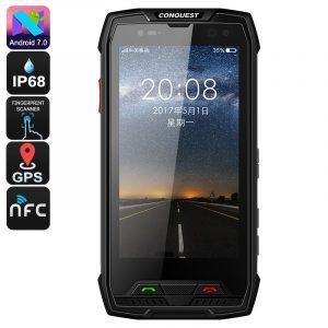 Защищенный смартфон Conquest S11