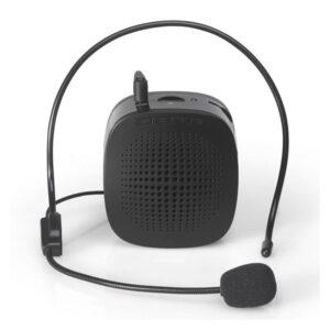 Портативный усилитель-громкоговоритель с микрофоном и колонкой S1015 (Micro SD, AUX IN, FM, диктофон)