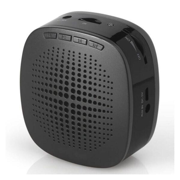 39125 - Портативный усилитель-громкоговоритель с микрофоном и колонкой S1015 (Micro SD, AUX IN, FM, диктофон)