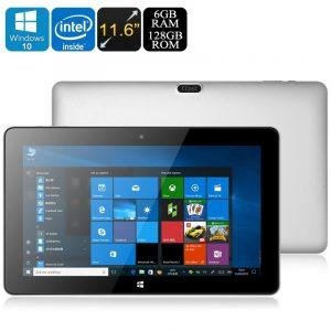 Планшет Jumper EZpad 6 Pro 128 Гб: Windows 10, Apollo Lake N3450, 6 Гб DDR3L, 11.6-дюймов экран, 1080p, 9000 мАч, OTG,USB Type-C