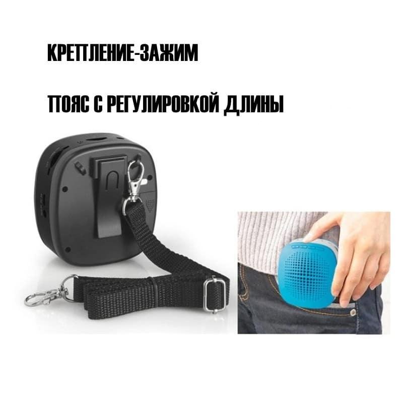 Портативный усилитель-громкоговоритель с микрофоном и колонкой S1015 (Micro SD, AUX IN, FM, диктофон) 214746
