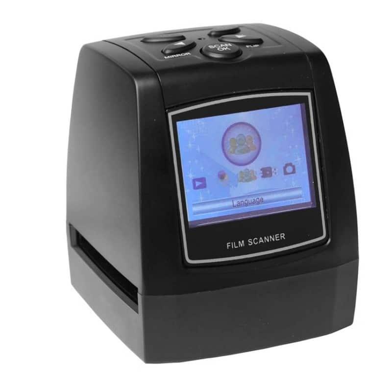 USB-сканер с ЖК-монитором для оцифровки 35 мм фотопленки, слайдов JubySkan: 5Мп (10Мп интерпол-я), поддержка SD-карты до 32Гб 214821