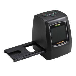 USB-сканер с ЖК-монитором для оцифровки фотопленки, слайдов EC018: 14Мп (22Мп интерпол-я), поддержка SD-карты до 32Гб