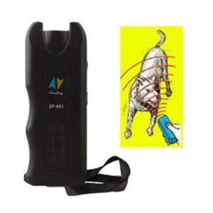 Ультразвуковой отпугиватель собак Baskervil ZF851 c ярким фонариком