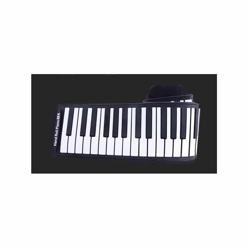 Гибкое пианино-клавиатура со встроенным аккумулятором (1000 мАч) Konix Profy: 88 клавиш, 140 тонов, 128 ритмов, педаль 214846