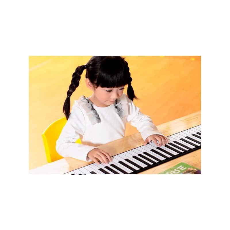 Гибкое пианино-клавиатура со встроенным аккумулятором (1000 мАч) Konix Profy: 88 клавиш, 140 тонов, 128 ритмов, педаль