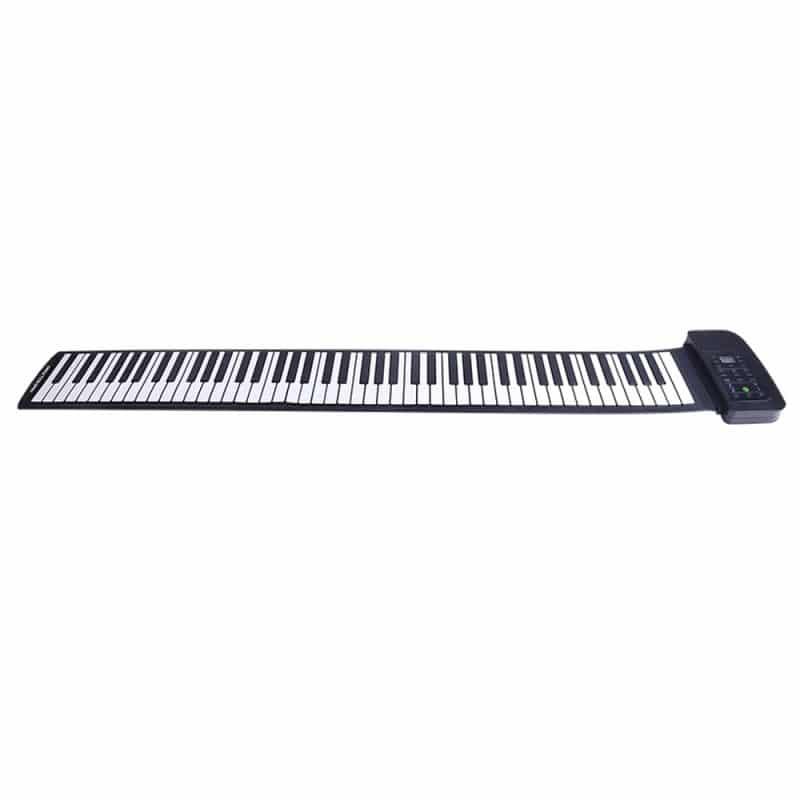 Гибкое пианино-клавиатура со встроенным аккумулятором (1000 мАч) Konix Profy: 88 клавиш, 140 тонов, 128 ритмов, педаль 214853