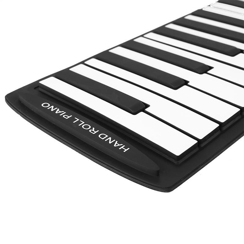 Гибкое пианино-клавиатура со встроенным аккумулятором (1000 мАч) Konix Profy: 88 клавиш, 140 тонов, 128 ритмов, педаль 214856