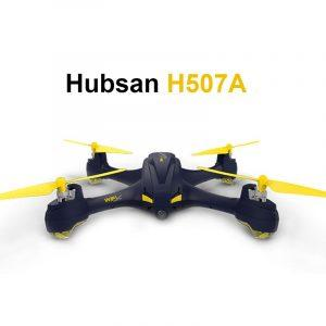 Квадрокоптер с камерой 720Р HUBSAN H507A: FPV, 9 мин.полета, поддержка iOS+Android, автоследование, автовозврат, Headless Mode