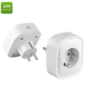 Умная Wi-Fi розетка (2 штуки в комплекте): поддержка приложений для iOS + Android