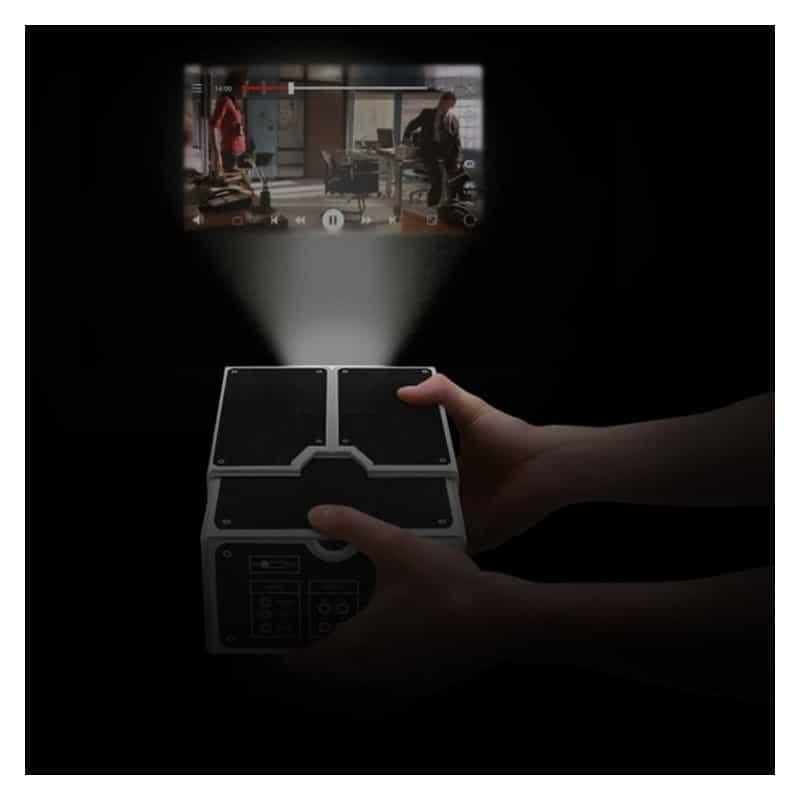 39369 thickbox default - Картонный складной проектор для смартфона (DIY портативный кинотеатр) CinemaTron: 8Х зум, подходит для любых смартфонов