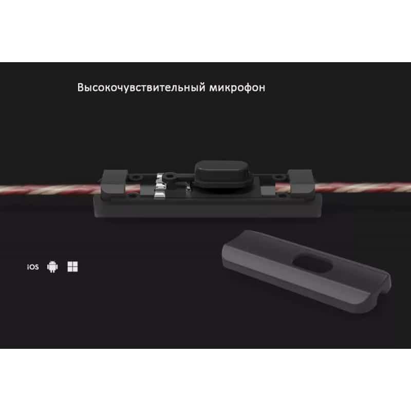Гибридные Hi-Fi наушники KZ (Knowledge Zenith) ZSR с гарнитурой и съемным кабелем: 22 Ом, 107дБ, 10-40000Гц, кабель 1,2 м 215020