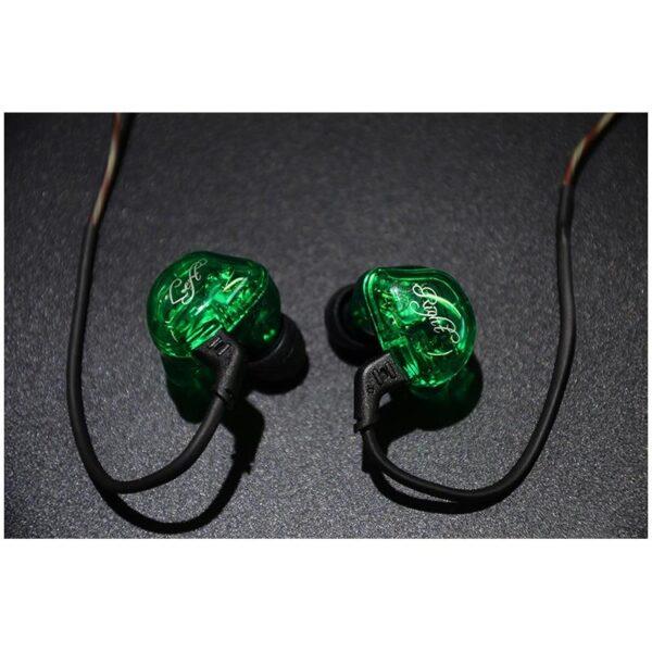 39466 - Гибридные Hi-Fi наушники KZ (Knowledge Zenith) ZSR с гарнитурой и съемным кабелем: 22 Ом, 107дБ, 10-40000Гц, кабель 1,2 м