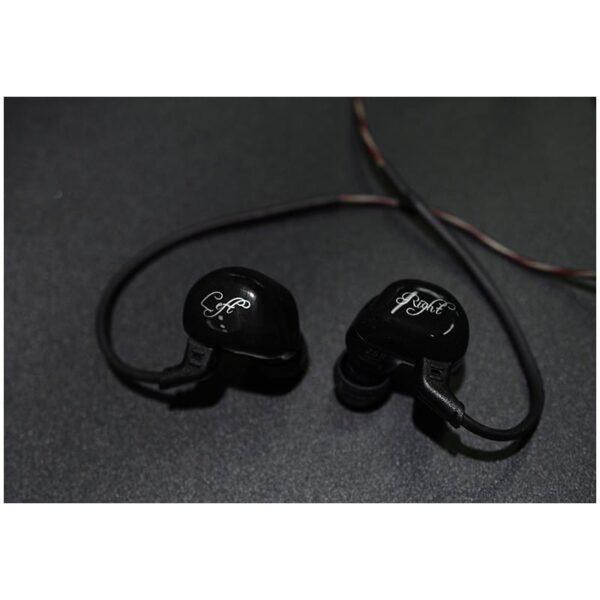 39469 - Гибридные Hi-Fi наушники KZ (Knowledge Zenith) ZSR с гарнитурой и съемным кабелем: 22 Ом, 107дБ, 10-40000Гц, кабель 1,2 м
