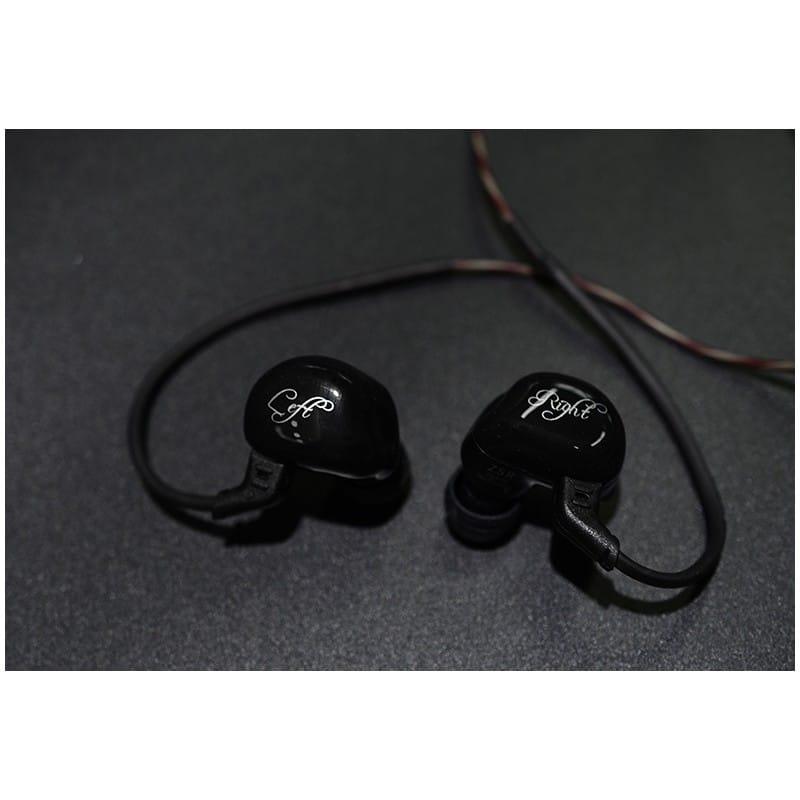 Гибридные Hi-Fi наушники KZ (Knowledge Zenith) ZSR с гарнитурой и съемным кабелем: 22 Ом, 107дБ, 10-40000Гц, кабель 1,2 м 215030