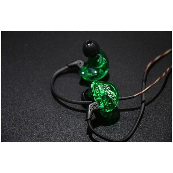 39470 - Гибридные Hi-Fi наушники KZ (Knowledge Zenith) ZSR с гарнитурой и съемным кабелем: 22 Ом, 107дБ, 10-40000Гц, кабель 1,2 м