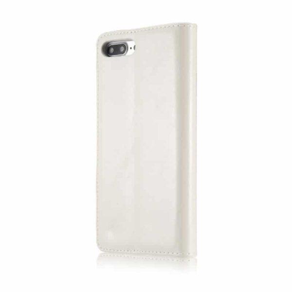 39478 - Кожаный чехол CaseMe003 для iPhone 7/8 с подставкой-держателем, слотами для карт и кошельком: PU-кожа, бизнес-стиль