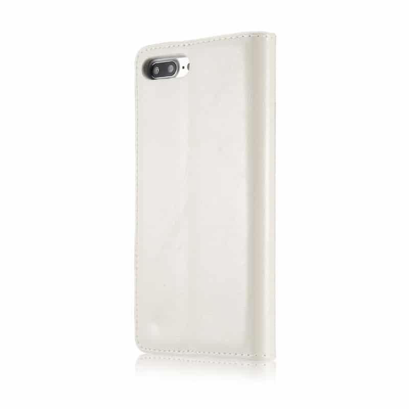 Кожаный чехол CaseMe003 для iPhone 8 Plus/ 7 Plus с подставкой-держателем, слотами для карт и кошельком: PU-кожа, бизнес-стиль 215063