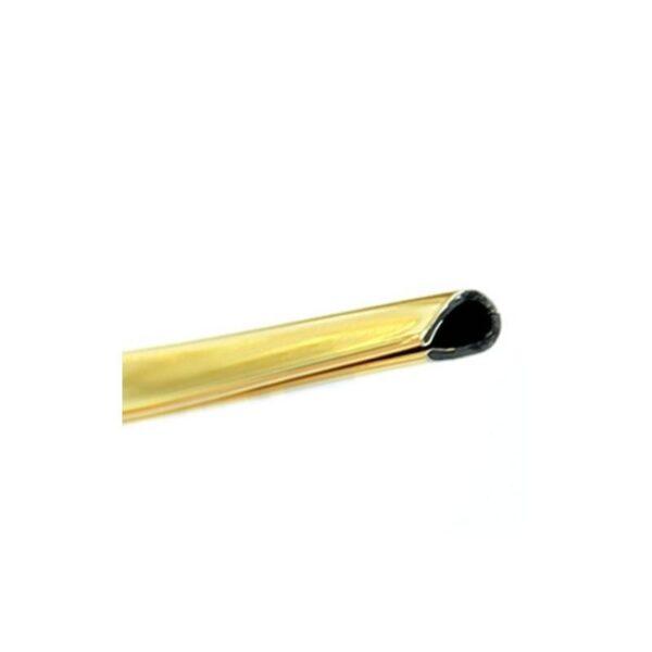 39553 - Защита двери (торцевой молдинг) черного, красного, серебристого, золотистого цвета, полоса-протектор 12 м