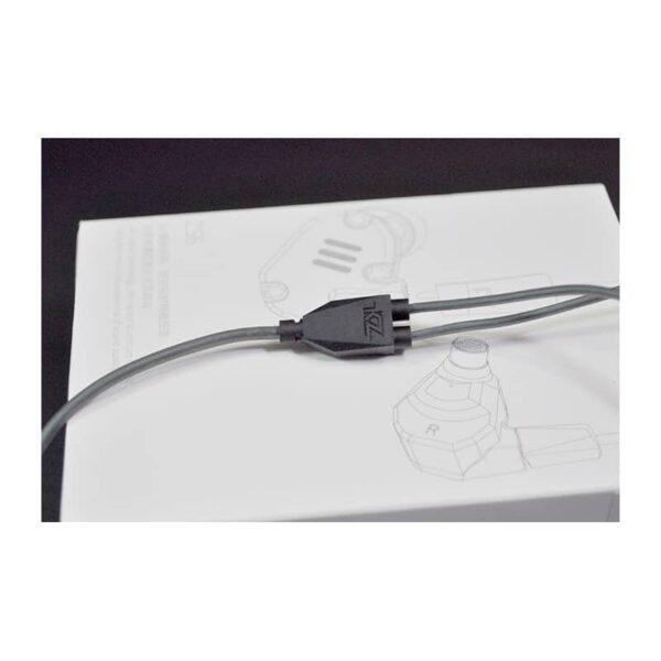 39712 - Гибридные внутриканальные наушники KZ (Knowledge Zenith) ZS6 с гарнитурой и съемным кабелем 1,2 м: 15 Ом, 105дБ, 7-40000Гц